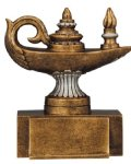 Resin Figure - Knowledge  Scholastic Trophy Awards
