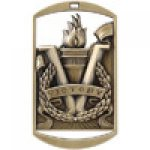 Dog Tag Medals -Victory  Victory Trophy Awards